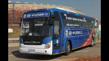 La flotta Hyundai ai Mondiali di Calcio 2010