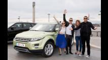 Le Range Rover Evoque di Cerruti, Versace, Slater e Barrett