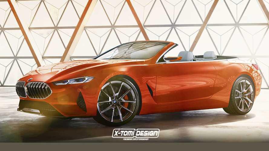 La BMW Série 8 Concept déjà imaginée en cabriolet