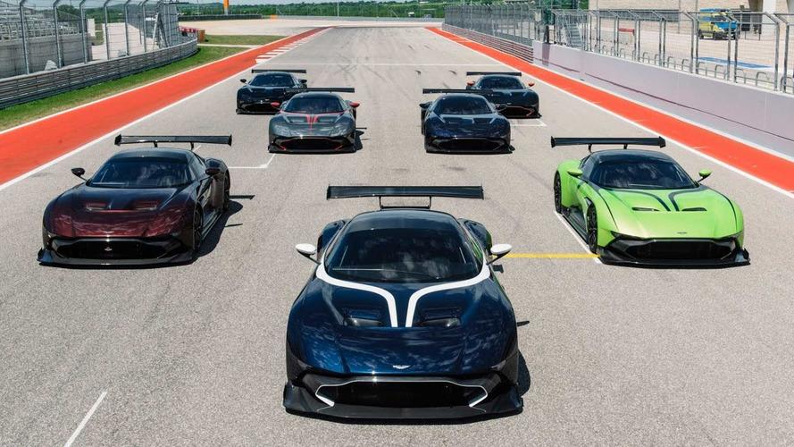 VIDÉO - Les Aston Martin Vulcan s'attaquent au circuit d'Austin