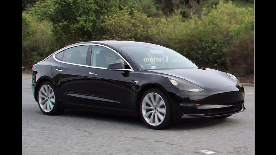 Erwischt: Die Serienversion des Model 3