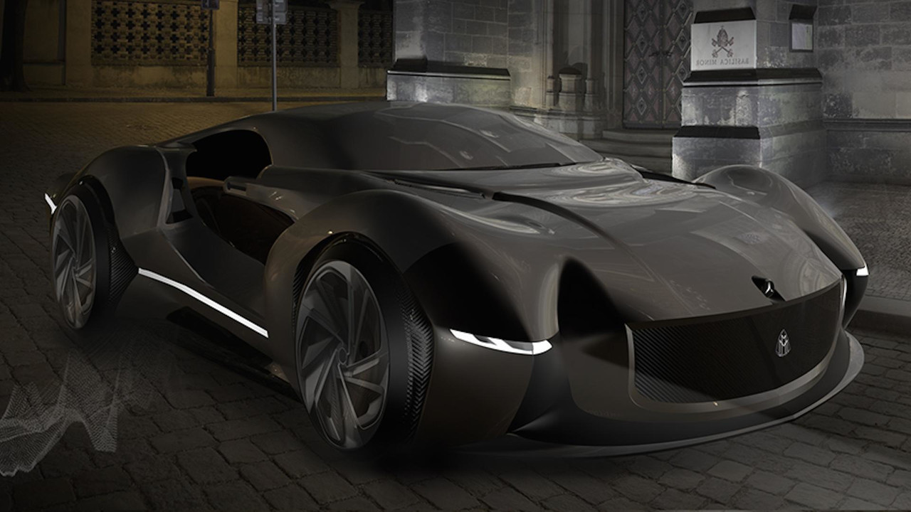 This is what a mercedes maybach supercar would look like for New mercedes benz supercar