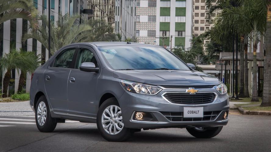 Chevrolet lança linha Cobalt 2018 com Isofix e nova cor