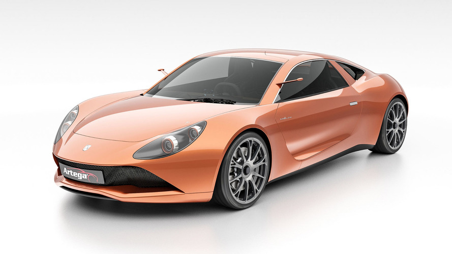 Electric Artega Scalo Superelletra has 1,020hp, central driver's seat