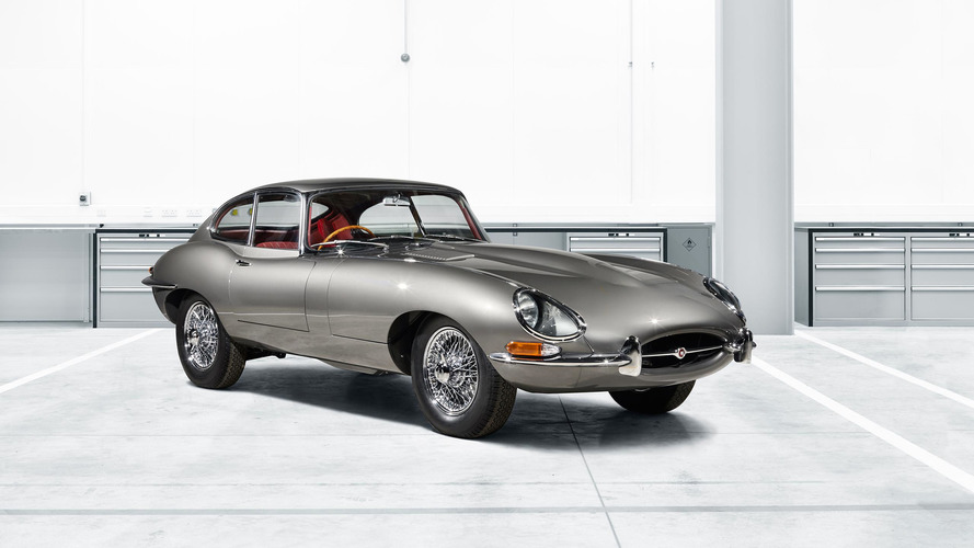 Jaguar Revealing First Factory-Restored E-Type At Techno Classica