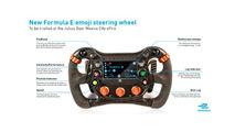 Formula E Emoji steering wheel