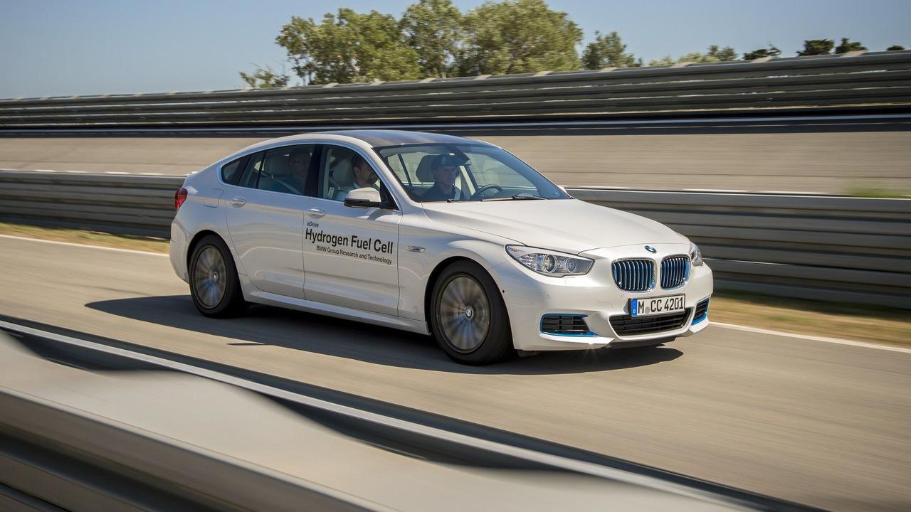 BMW 5 Serisi GT Hydrogen