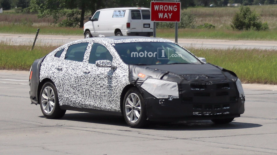 2019 Chevy Malibu Prototype Caught Hiding In Plain Sight