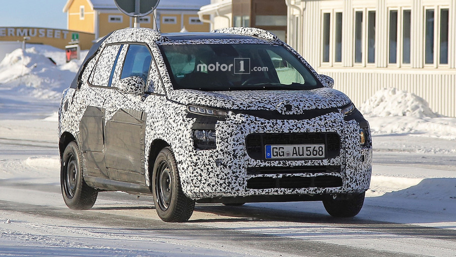 2017 Citroen C3 Picasso Spy Shots