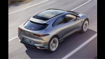 Jaguar elektrisiert München