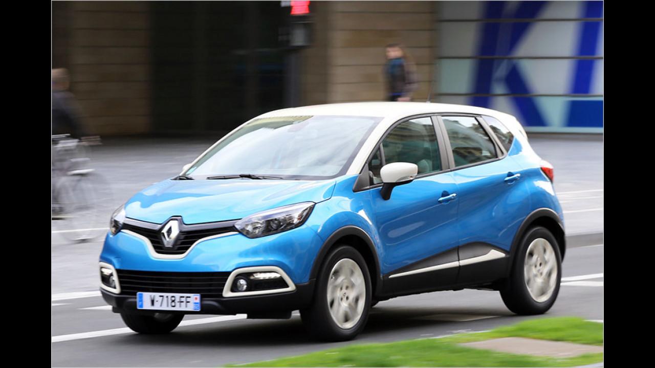 Platz 2: Renault Captur Energy dCi 90 (ab 17.490 Euro)