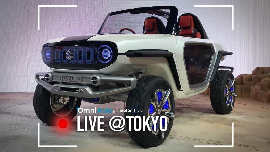 Suzuki e-Survivor, il SUV dei prossimi 100 anni