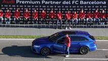 Audi: coches del Barcelona 2017/2018