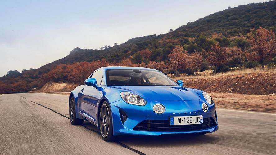 Lightweight Alpine A110 Sport With 300 HP Under Development