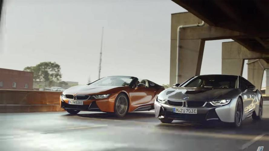 BMW Promo Makes i8 Roadster Look Ready For The High-Tech Future