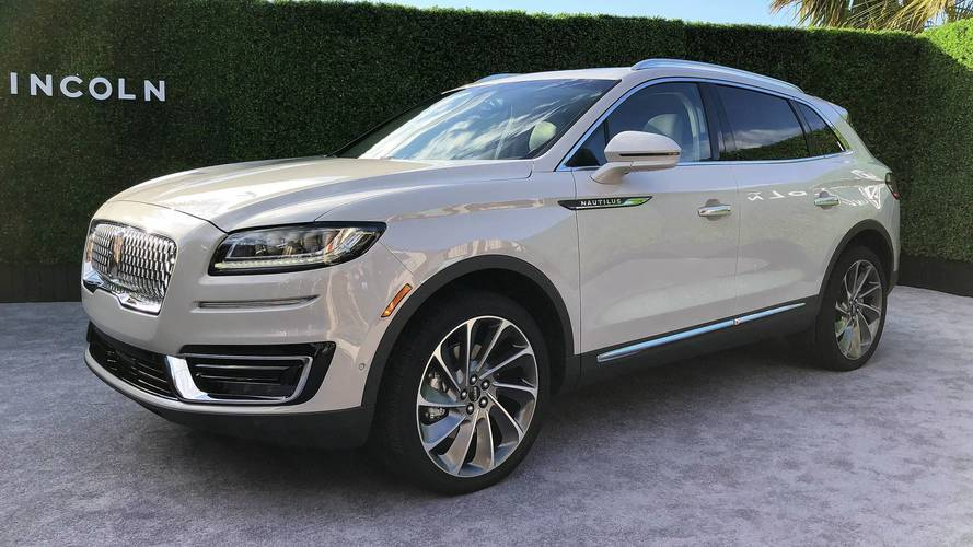 2019 Lincoln Nautilus Picks Up Where MKX Left Off
