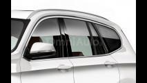 Nuova BMW X3, il rendering