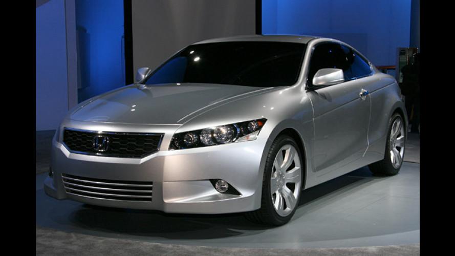 Honda zeigt in Detroit eine zweitürige Variante des Accord