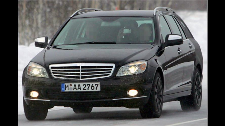 Ertappt! Erlkönigbilder vom Mercedes C-Klasse T-Modell