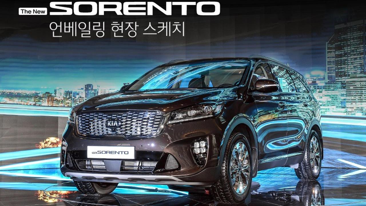 Makyajlı 2018 Kia Sorento (Kore Spec)