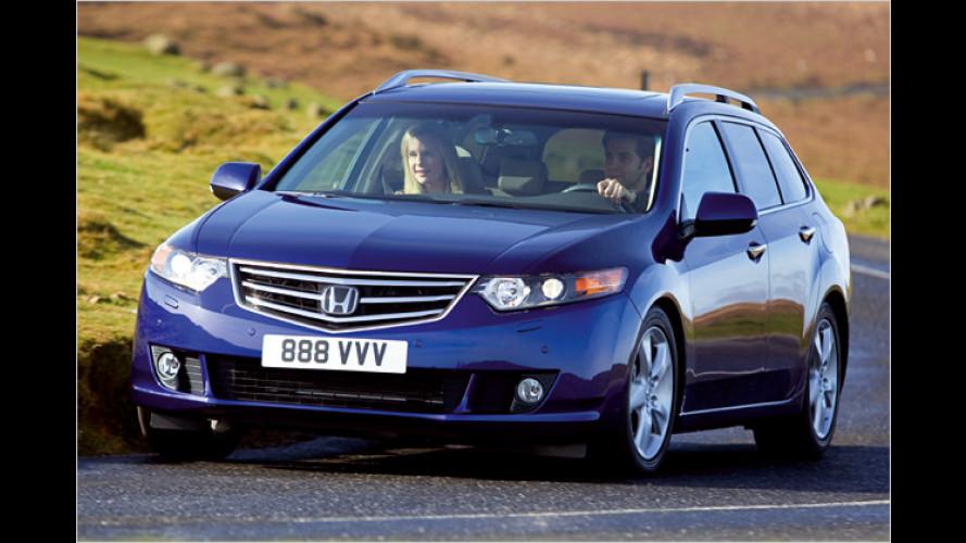 Neu kombiniert: Honda Accord mit Diesel und Automatik