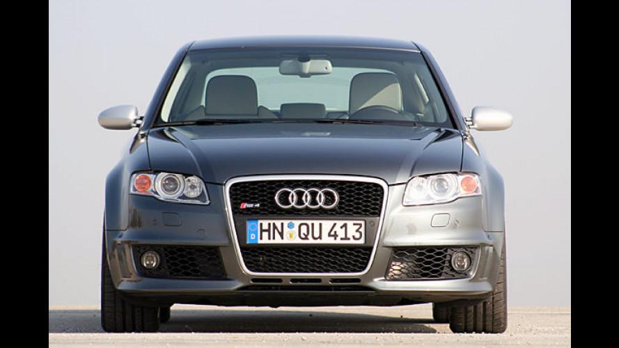 Der neue Audi RS4: Limo mit Schuss