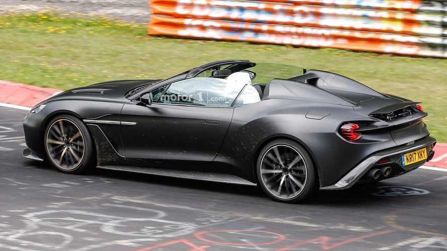 L'Aston Martin Vanquish Zagato Speedster existe bel et bien !