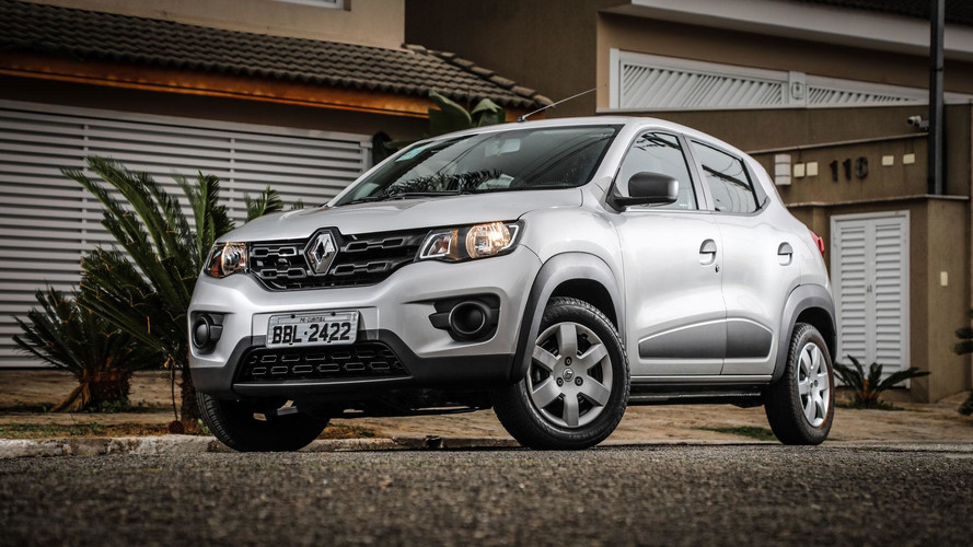 Renault Kwid volta a ser entregue, mas ainda está longe do Top 20