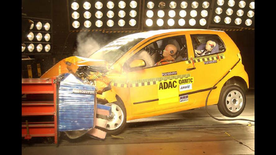 ADAC-Crashtest: VW Fox setzt neue Maßstäbe