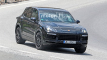 2018 Porsche Cayenne Hot-Weather Spy Photos