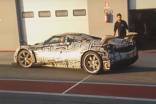Watch Pagani Test Hardcore Huayra And Its Ginormous Wing