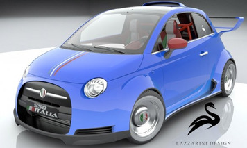 Next: A Fiat 500 With 550 hp, Finally