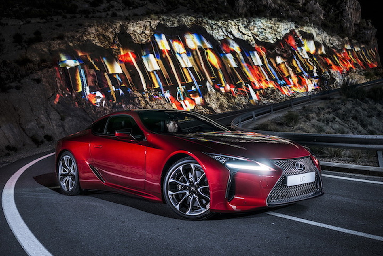 New Lexus LC 500 Ad is an Audio Visual Feast