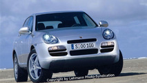 Porsche Cayenne facelift artist interpretation