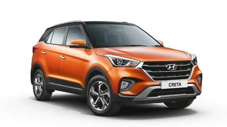 Hyundai Creta 2019 ganha mudança visual e mais tecnologia na Ásia