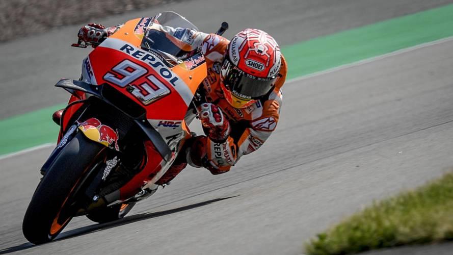 """Márquez: """"Suerte que las Yamaha están mal, si llegan a estar bien…"""""""