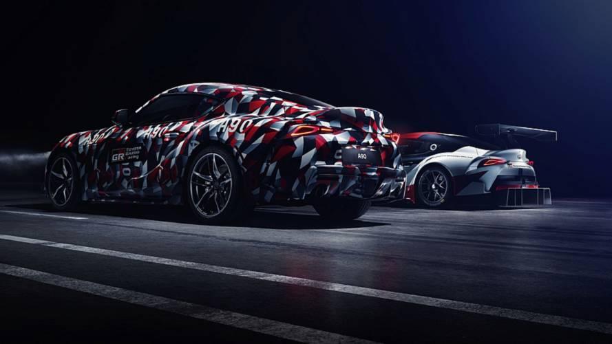 2019 Toyota Supra returns in new teaser; inline-six confirmed