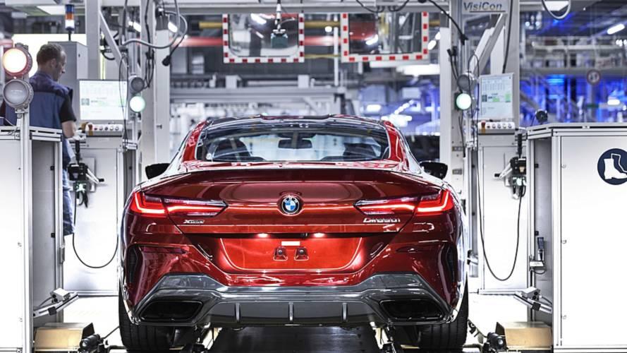 Belíssimo BMW Série 8 Coupé começa a ser produzido