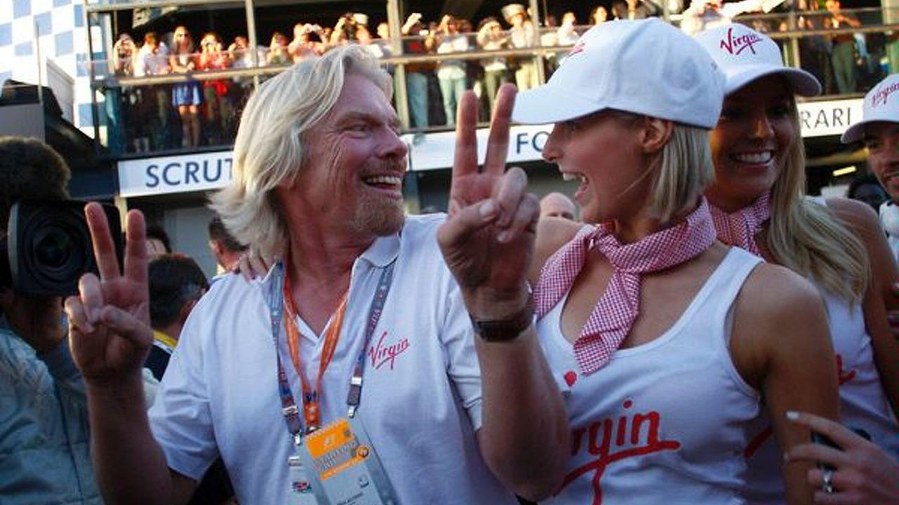Sir Richard Branson at Australian grand prix 2009 - low res