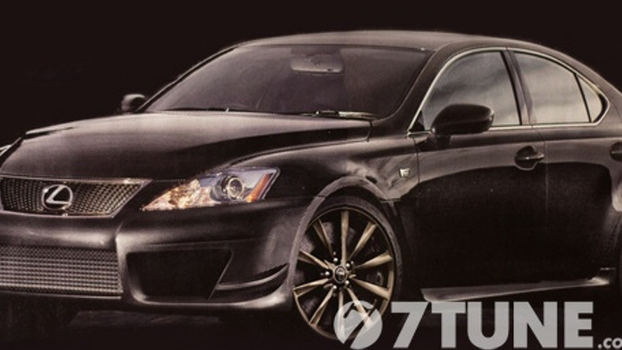 Lexus Rumoured to be Prepping Faster & Lighter IS-F Evolution