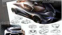 McLaren LM5 Artists rendering