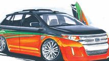 Ford Edge by K-Daddyz Kustomz