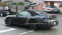 2011 Porsche 998 Cabriolet spy photo