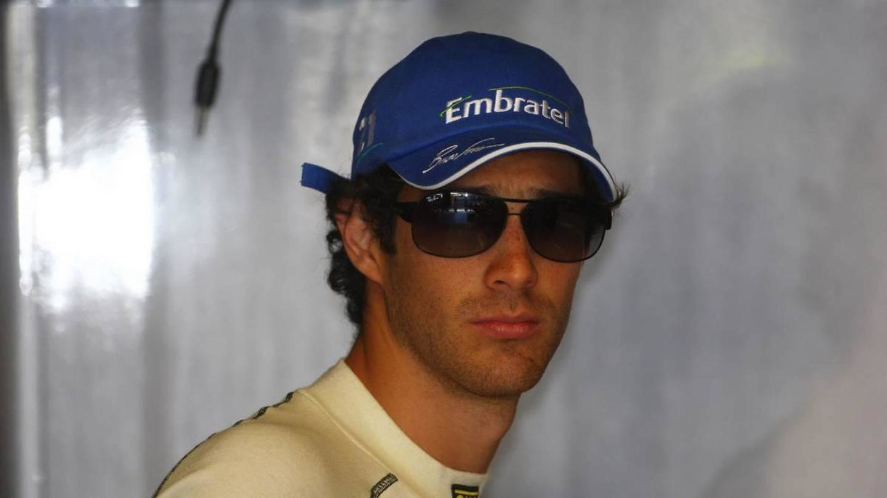 Bruno Senna (BRA), Hispania Racing F1 Team, HRT - Formula 1 World Championship, Rd 14, Italian Grand Prix, Friday Practice, 10.09.2010 Monza, Italy