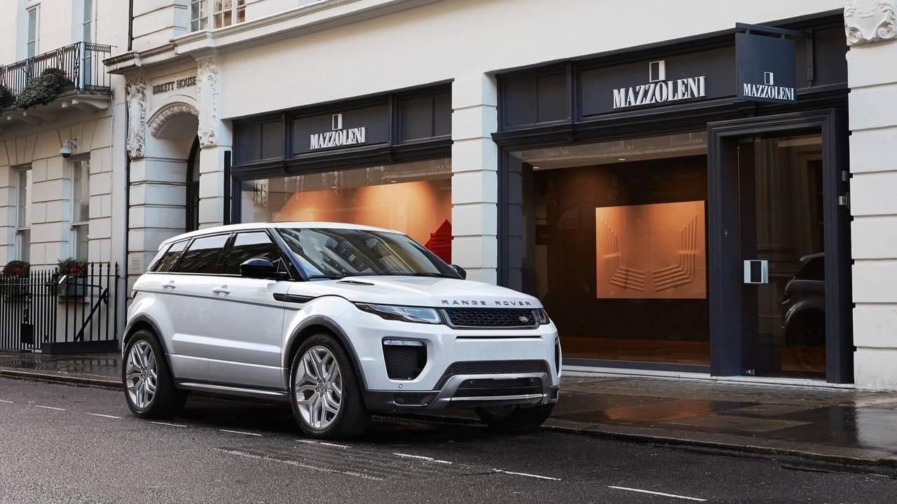 3 - Land Rover Range Rover Evoque