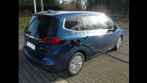 Opel Zafira 2.0 CDTI, test di consumo reale Roma-Forlì