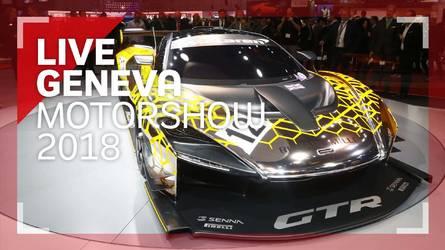 Genève 2018 - Les trois McLaren Senna en vidéo !