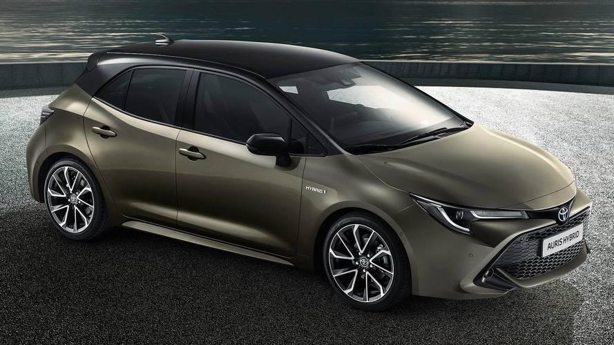 Nuova Toyota Auris, ibrida da 122 e 180 CV