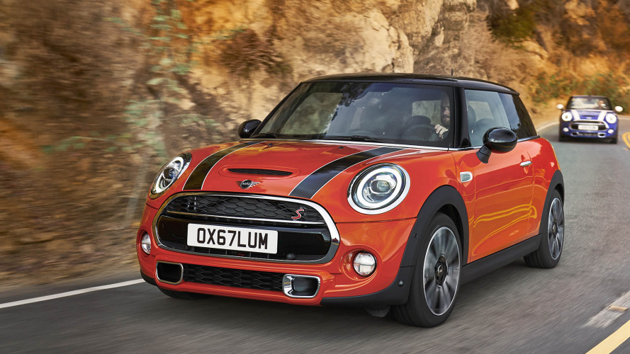 2018 Mini Hatch and Convertible facelift