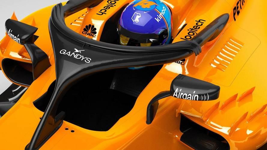 Fernando Alonso y el McLaren MCL33